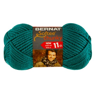 Bernat Softee Chunky - Emerald - Yarnia Craft Closet