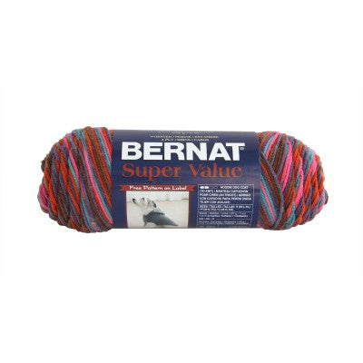 Bernat Super Value - Sunset Sedona - Yarnia Craft Closet