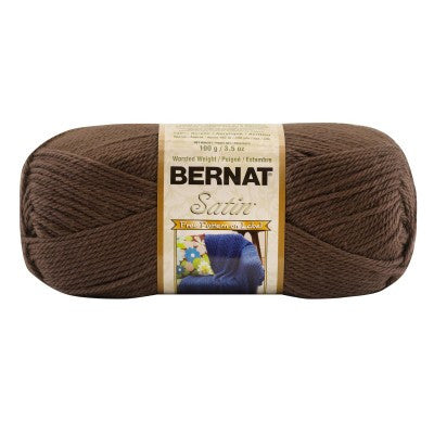Bernat Satin - Taupe Heather - Yarnia Craft Closet