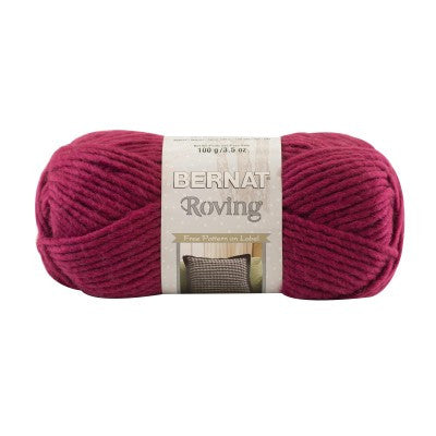 Bernat Roving - Raspberry - Yarnia Craft Closet