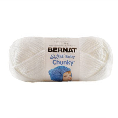Softee Baby Chunky - Fluffy White Cloud
