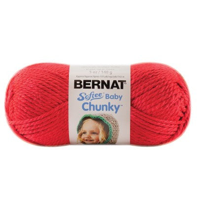 Softee Baby Chunky - Candy Apple Red