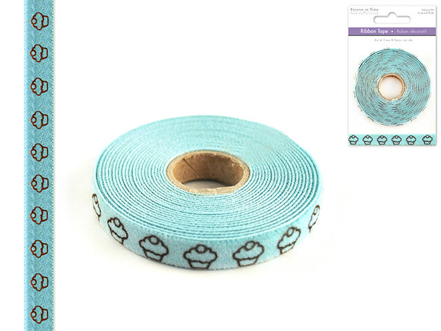 Ribbon Tape - Mint Cupcake
