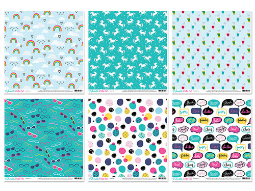 AC Cardstock - Single sided - Prints - Yarnia Craft Closet