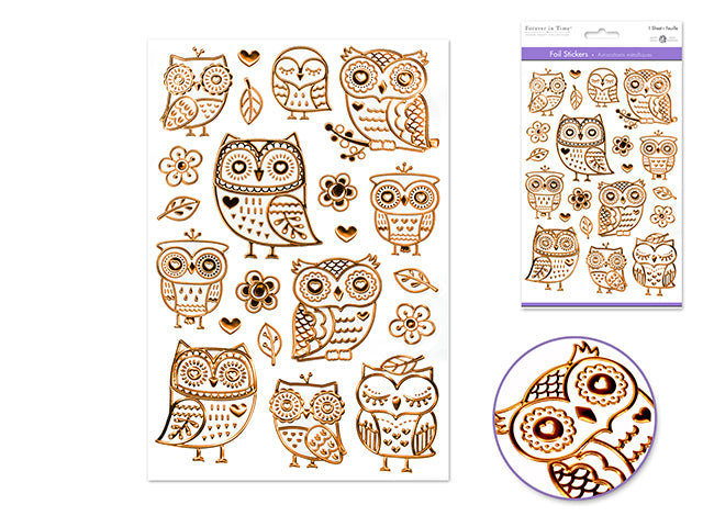 Paper Craft Sticker : Foil with Gems - Yarnia Craft Closet