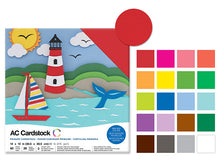 AC Cardstock : 60 sheets per pack : Various