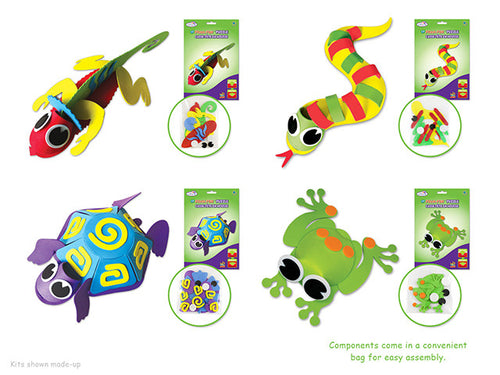 Foam Animal Craft Kits - Yarnia Craft Closet