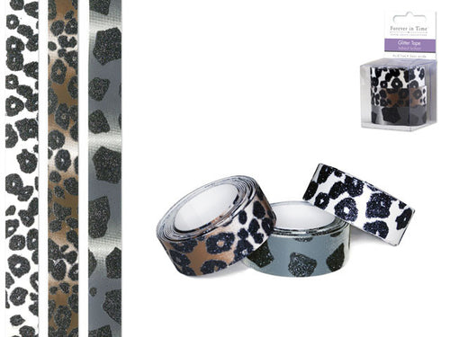 Glitter Tape : Safari - Yarnia Craft Closet