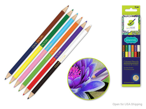Double Ended Colour Pencils - Yarnia Craft Closet