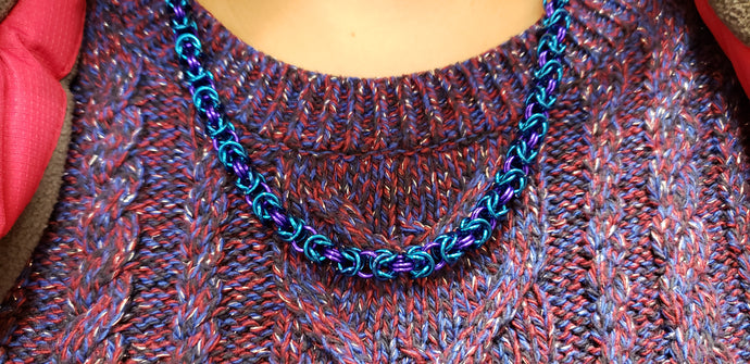 Chainmaille class - Yarnia Craft Closet