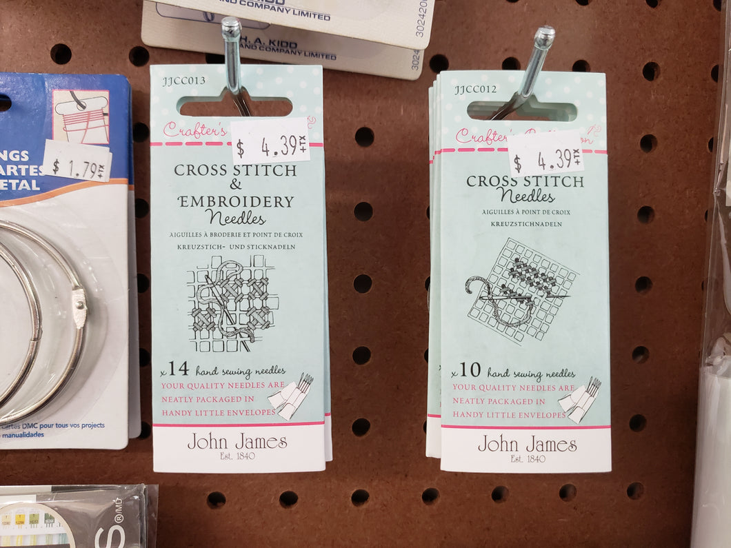 Counted Cross Stitch Needles - Yarnia Craft Closet