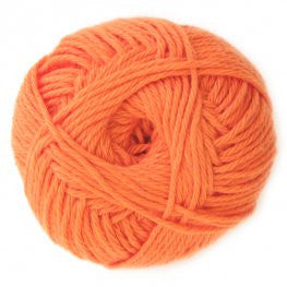 Cotton - Orange - Yarnia Craft Closet