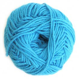 Cotton - Azure Blue - Yarnia Craft Closet