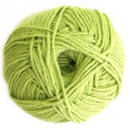 Cotton - Lime Green - Yarnia Craft Closet
