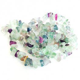 Gemstone beads : Fluorite : Violet - Yarnia Craft Closet