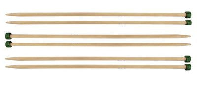 Knitter's Pride : Bamboo Single Point Knitting Needles : 10 inch