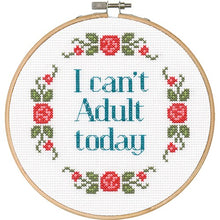 Subversive Cross stitch kits - Yarnia Craft Closet