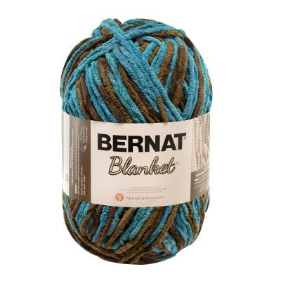 Bernat Blanket - Mallard Wood - Yarnia Craft Closet