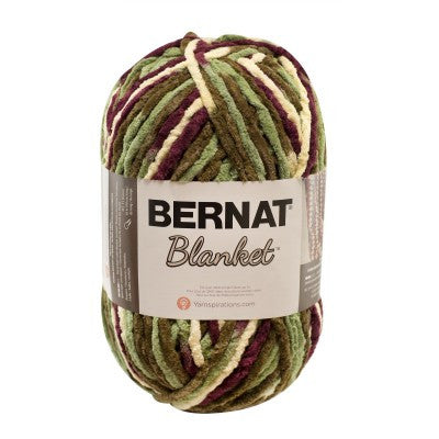 Bernat Blanket - Plum Fields - Yarnia Craft Closet
