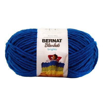 Bernat Blanket Brights - Royal Blue - Yarnia Craft Closet