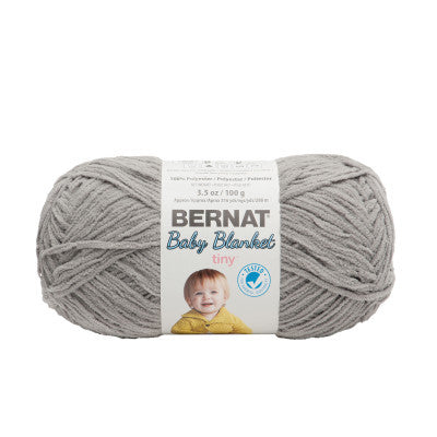 Bernat Tiny Blanket - Gray Owl - Yarnia Craft Closet
