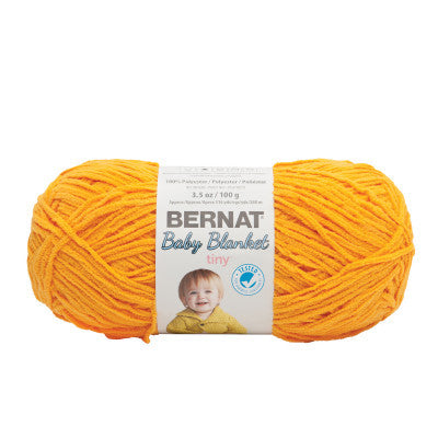 Bernat Tiny Blanket - Sunflower - Yarnia Craft Closet