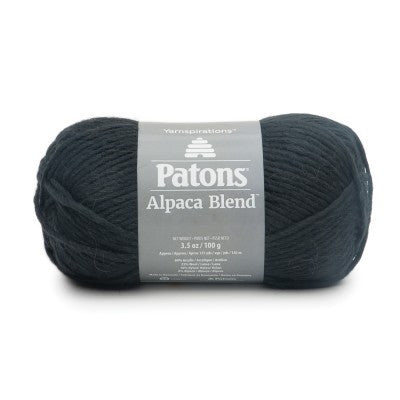 Patons Alpaca Blend - Onyx - Yarnia Craft Closet
