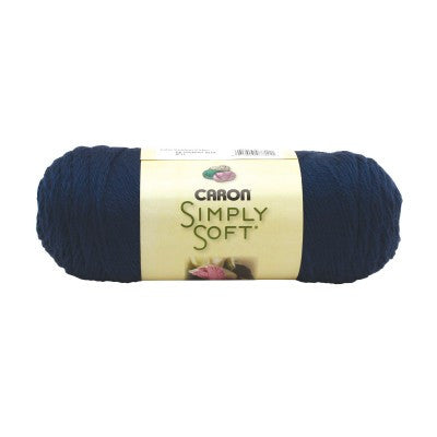 Caron Simply Soft - Dark Country Blue - Yarnia Craft Closet
