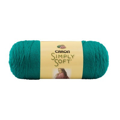 Caron Simply Soft - Cool Green - Yarnia Craft Closet