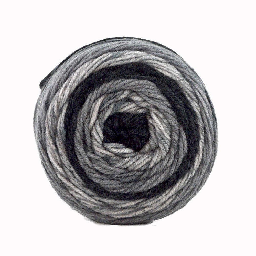 Sweet Roll - Black Pepper Swirl - Yarnia Craft Closet