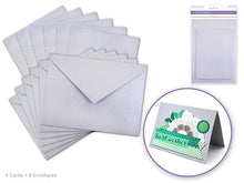 "4.5""x6"" cards+envelopes - sets of 6 - Various colours - Yarnia Craft Closet"