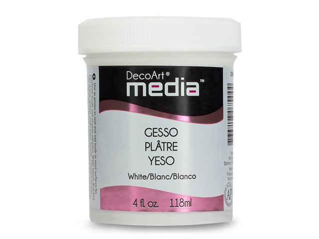Decoart Gesso - Black or White - Yarnia Craft Closet