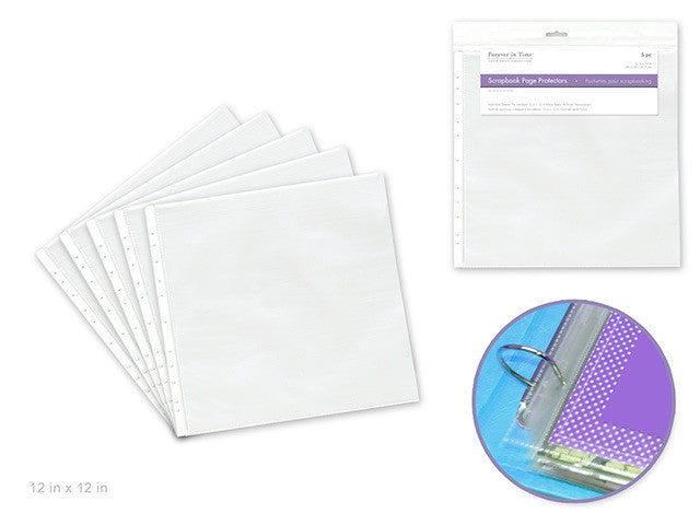 Scrapbook Sheet Protectors