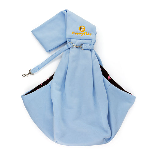 FurryFido Blue Reversible Pet Sling