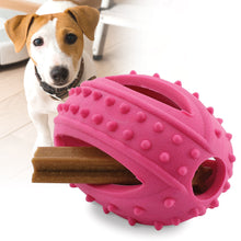 Funny Dog Puzzle and Dog Chew Toys -Red football