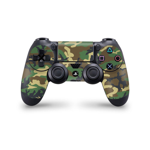 Woodland Camo Playstation 4 controller skin