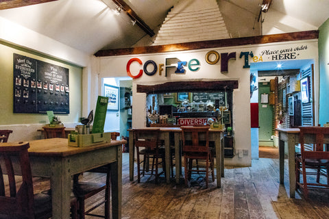 The Caf Evergreen Art Cafe Daventry