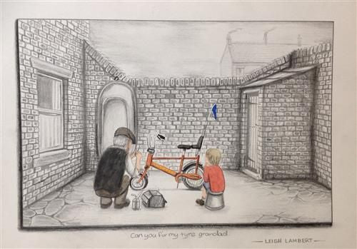 Can You Fix My Tyre Grandad by Leigh Lambert