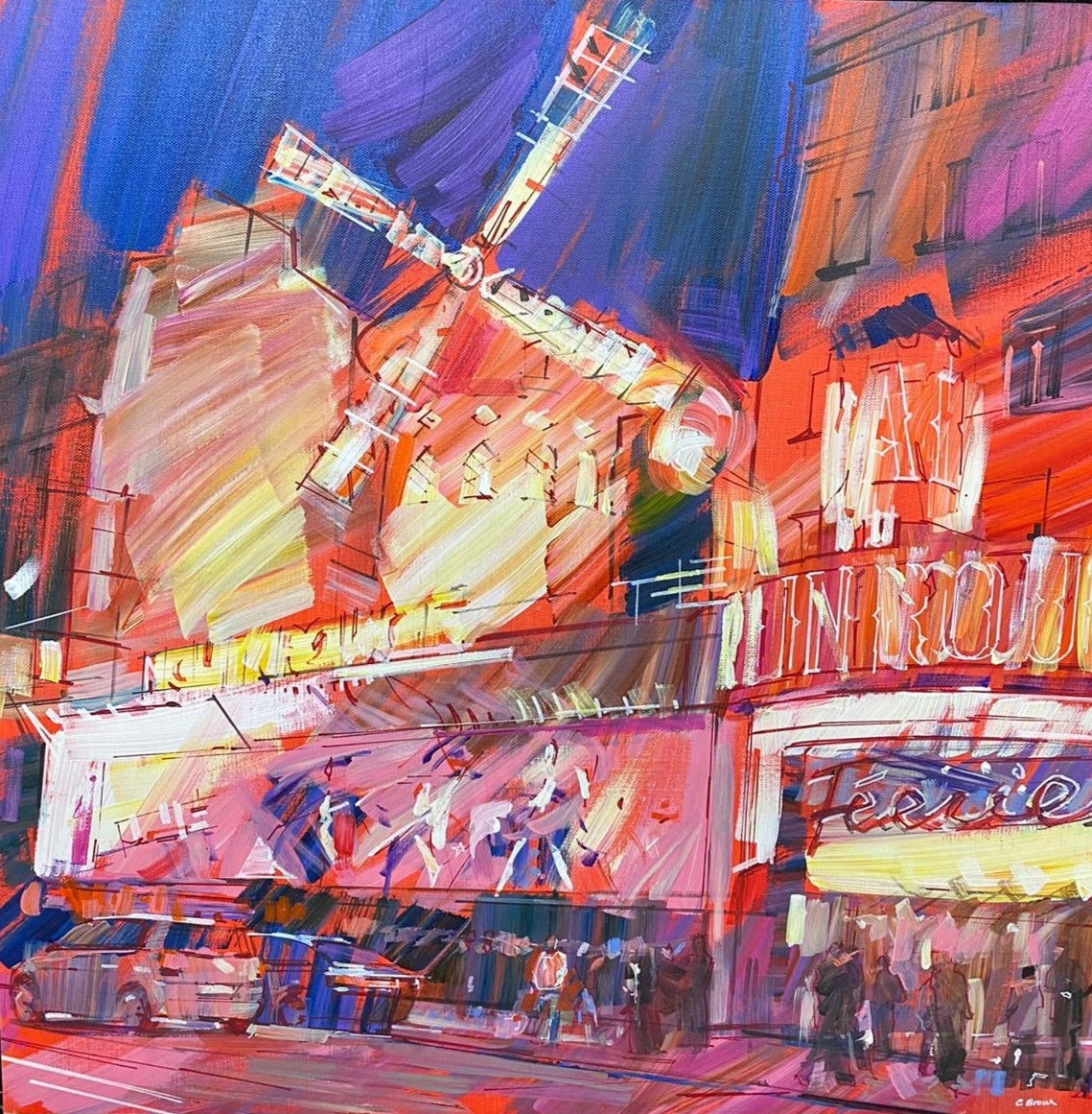 Moulin Rouge by Colin Brown