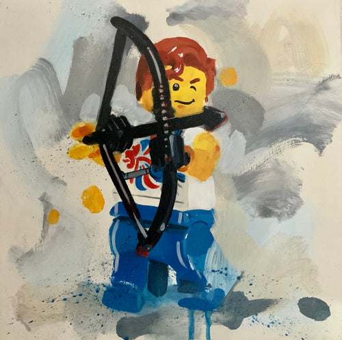 Team GB Lego Archer by James Paterson