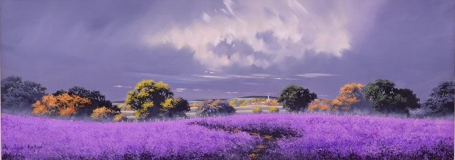 Lilac Pathway by Allan Morgan