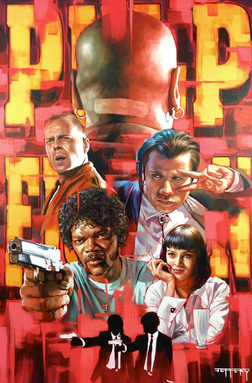 Pulp Fiction by Ben Jeffery