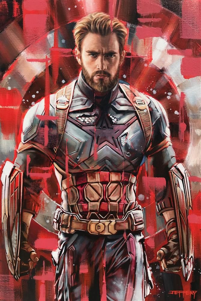 Captain America by Ben Jeffery