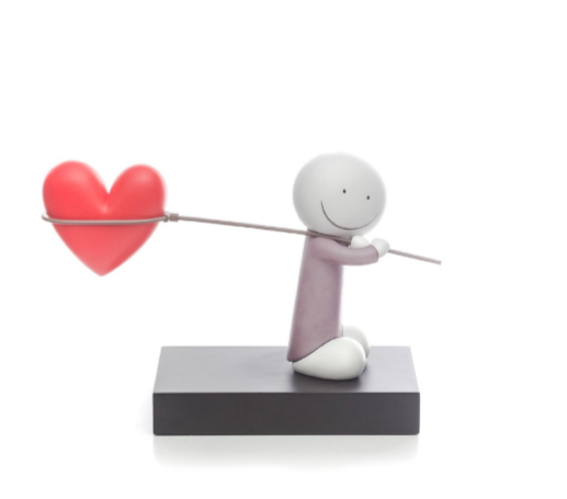 Caught Up In Love Sculpture by Doug Hyde