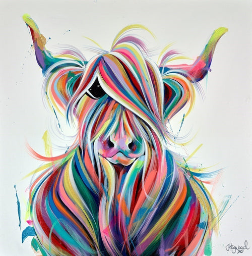 Colour Lovin' Moo by Jennifer Hogwood