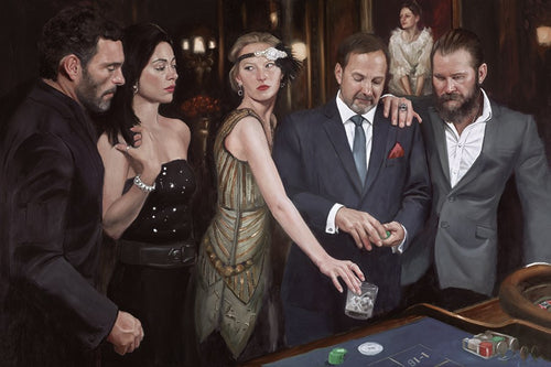 Diamond Roulette by Vincent Kamp