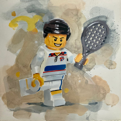 Team GB Lego Tennis by James Paterson