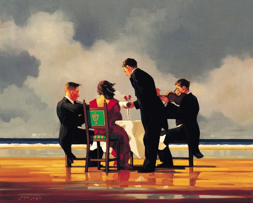 Elegy for the Dead General by Jack Vettriano