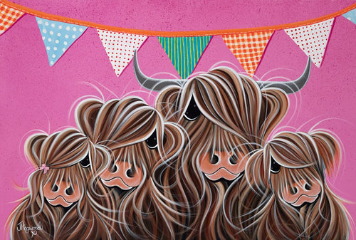 Fa-Moo-Ly Party by Jennifer Hogwood