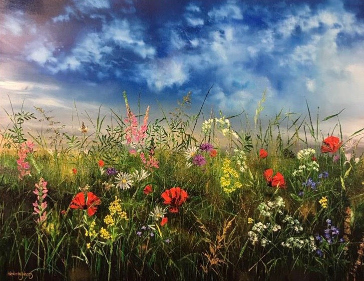 Floral Meadow by Kimberley Harris